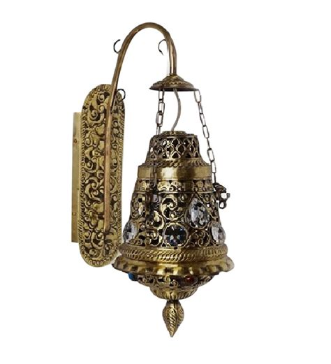 fos lighting antique moroccan brass wall light by fos
