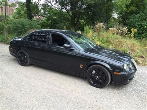 jaguar s type v8 breaking jaguar s type r 4 2 v8 supercharged auto black