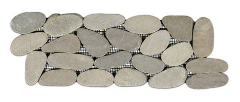 sliced pebble tile border sliced java pebble tile border pebble tile shop