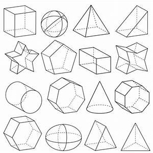 Geometry 3D Shapes - KidsPressMagazine.com