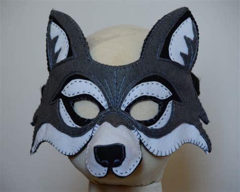 wolf mask template wolf mask pdf pattern