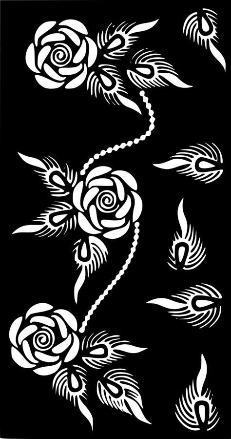 Henna Temporary Tattoo Body Art Sticker Stencil #TemporaryTattooRemoval   Temporary Tattoo