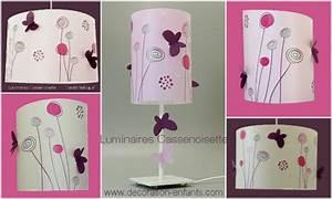 Suspension Papillon Luminaire Chambre Enfant Lampe