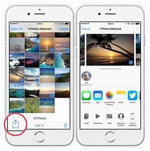 Guide  Sharing Photos Via Email  Messages  U0026 Social Media