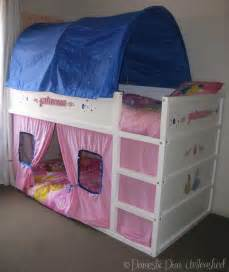 domestic princess ikea kura bed makeover images frompo