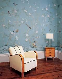 Muster Tapete Wohnzimmer : tapete mit muster wird den raum einzigartiger erscheinen lassen ~ Markanthonyermac.com Haus und Dekorationen
