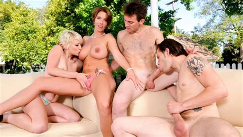 Bisexual Foursome Couples