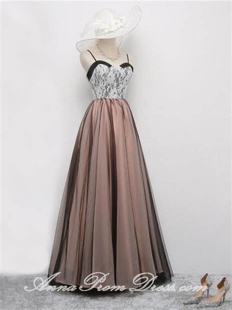 vintage prom dresses   floor length sexy simple lace
