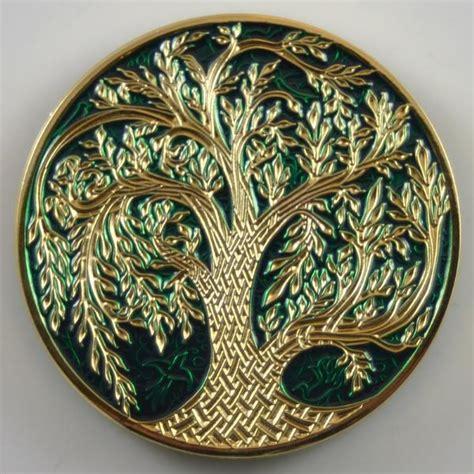 tbxp celtic tree  life geocoin crann bethadh