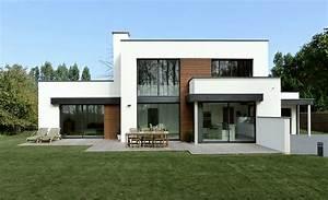 emejing maison moderne cube ideas awesome interior home With plan de maison cubique 9 maison cube contemporaine 224 troyes