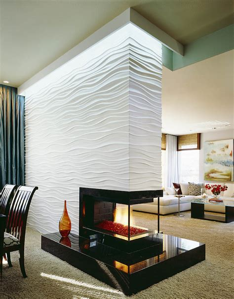Kamin Modern Design by 16 Unique Modern Fireplace Design Ideas Style Motivation