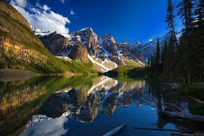 Banff Canada Lake Moraine Alberta Park Mountain
