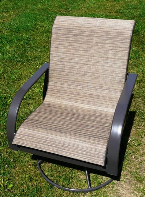 replace patio sling chair fabric patio sling fabric replacement fl 035 linen leisuretex