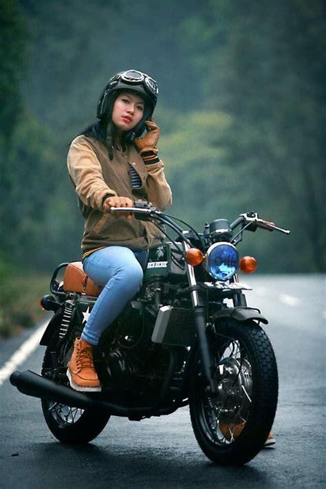 Motor Cb Clasik by Modifikasi Motor Kawasaki 250 Cb Classic Style