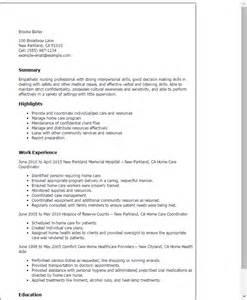 nursing home resume 2016 patient care coordinator resume sle slebusinessresume slebusinessresume
