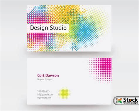 designer business card vector   vector art