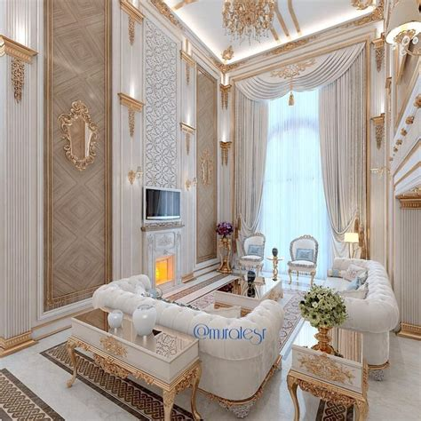 livingroom decor white and gold living room interiors luxury