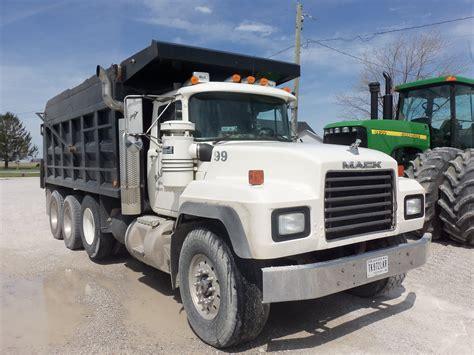 mack dump truck tri axle mack dump truck my truck pictures pinterest