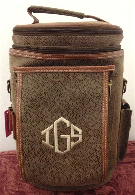 monogrammed insulated golf cooler bag monogramming