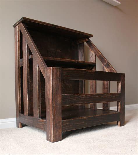 Ana White Kendra Storage Console Aka Bookshelf Toybox