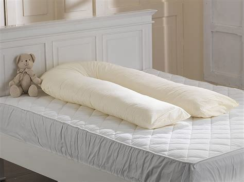 large bed pillows big c u maternity pregnancy back support hollowfibre