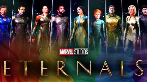 New Character Details For Marvel's Eternals Revealed