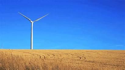 Wind Windmill Power Animated Cinemagraph Turbine Gifs