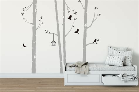 kitchens for small apartments birch tree wall stickers peenmedia com