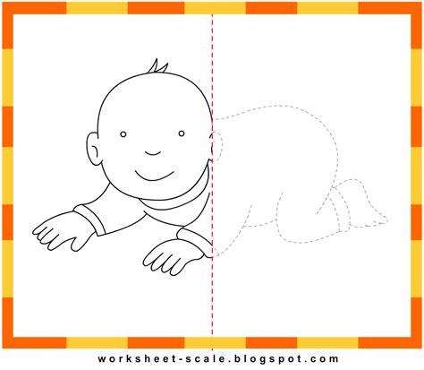 Free Printable Drawing Worksheets For Kids Baby Worksheet