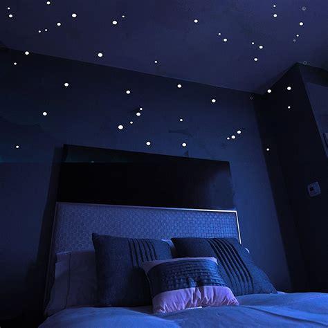 plafond chambre etoile stickers toiles pour plafond