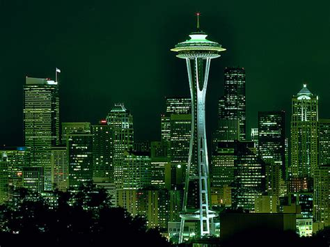 emerald city | HDR rendition of the downtown seattle ...