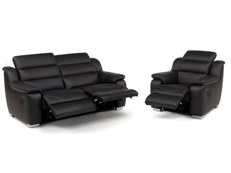 canape fauteuil canapé et fauteuil relax électrique cuir arena