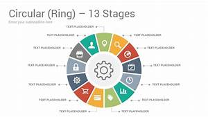 Circular Ring Diagrams Powerpoint Template Designs