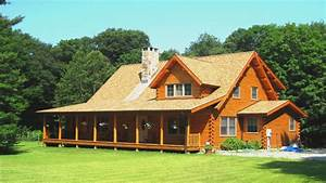log cabin house plans with open floor plan log cabin home With log homes designs and prices