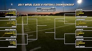 WPIAL High School Football Championship Brackets Unveiled ...