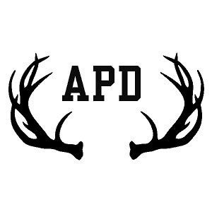 monogram  antlers country boy customs store