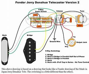 Wiring Diagram For Squier Telecaster