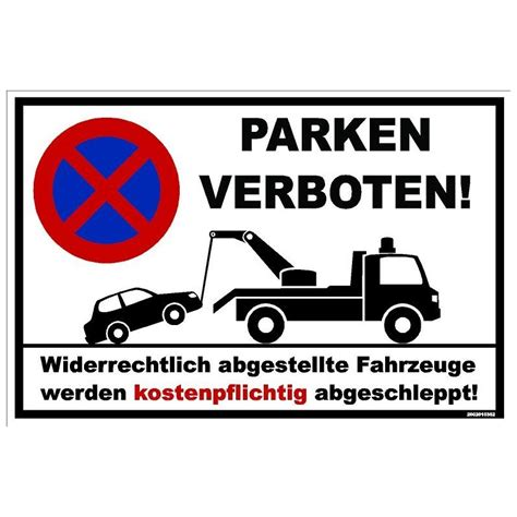 parken verboten kleberio