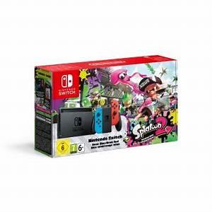 Nintendo Switch Black Splatoon 2 MIX Draagbare