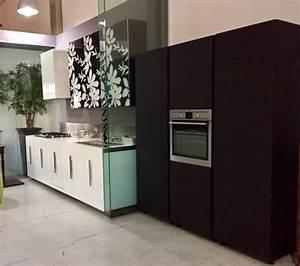Cucina Rb Rossana Etna Bianco Lucido Laccato Vetro Decoro Fly ...