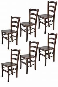 Stühle Für Küche : tommychairs 6er set st hle venice f r k che und esszimmer robuste struktur aus lackiertem ~ Frokenaadalensverden.com Haus und Dekorationen