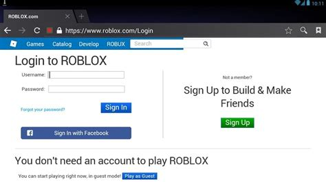 Roblox Login Gallery