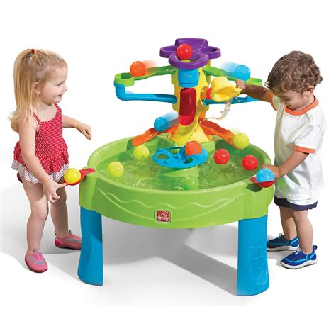 step 2 water table busy ball play table kids sand water play step2