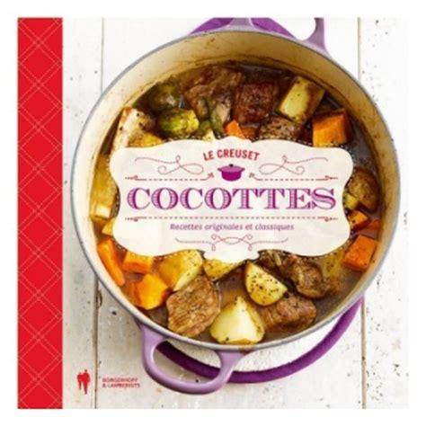 livre de cuisine cocottes le creuset tout en cocottes