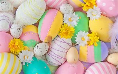 Easter Colorful Eggs Egg Happy Wallpapers Pastel