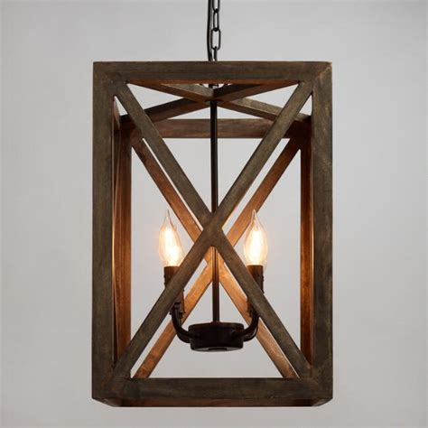 wood and metal chandelier gray wood and iron valencia chandelier world market