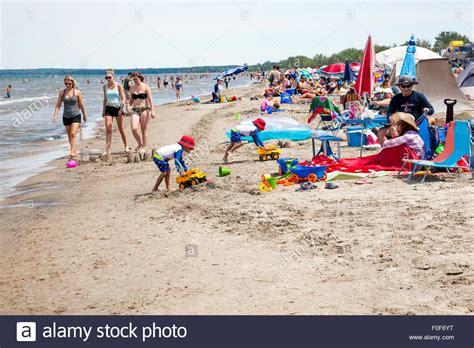 Wasaga Beach Provincial Park In Ontario; Canada, The