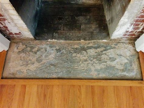 How To Level Uneven Fireplace Hearth Concrete?   Fireplace