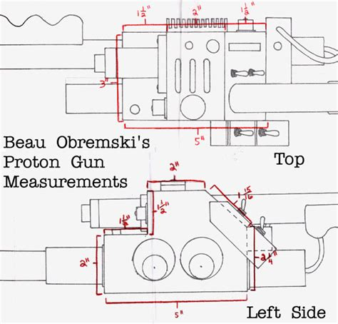 Ghostbusters Proton Pack Plans by The Ghostbusters Prop Page