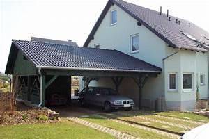 Holzanbau Am Haus : carport am haus affordable walmdach carport am haus ~ Lizthompson.info Haus und Dekorationen